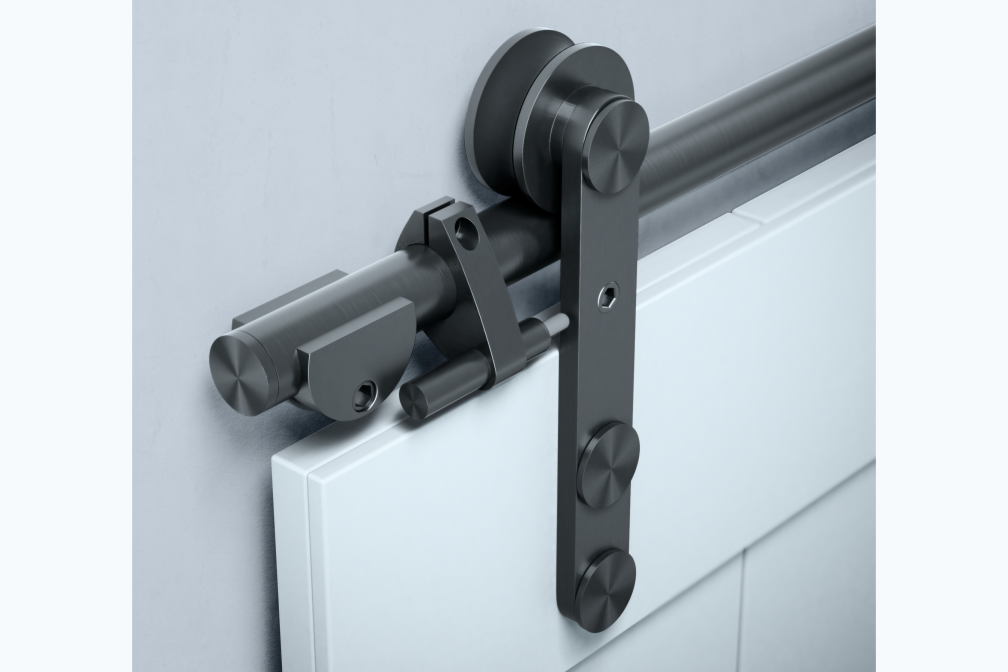 Open Rail, Sliding Door Hardware