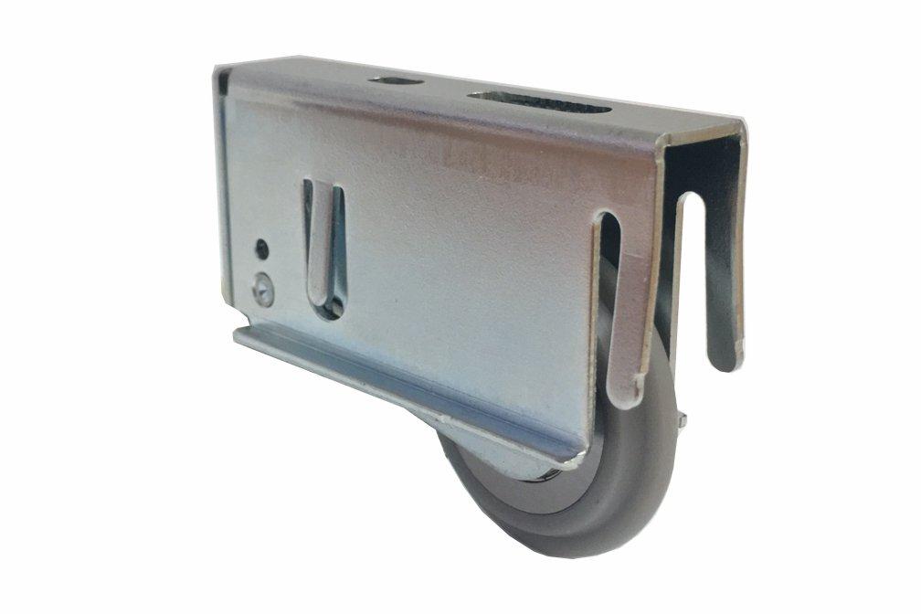 Bottom rolling, straight sliding, door hardware